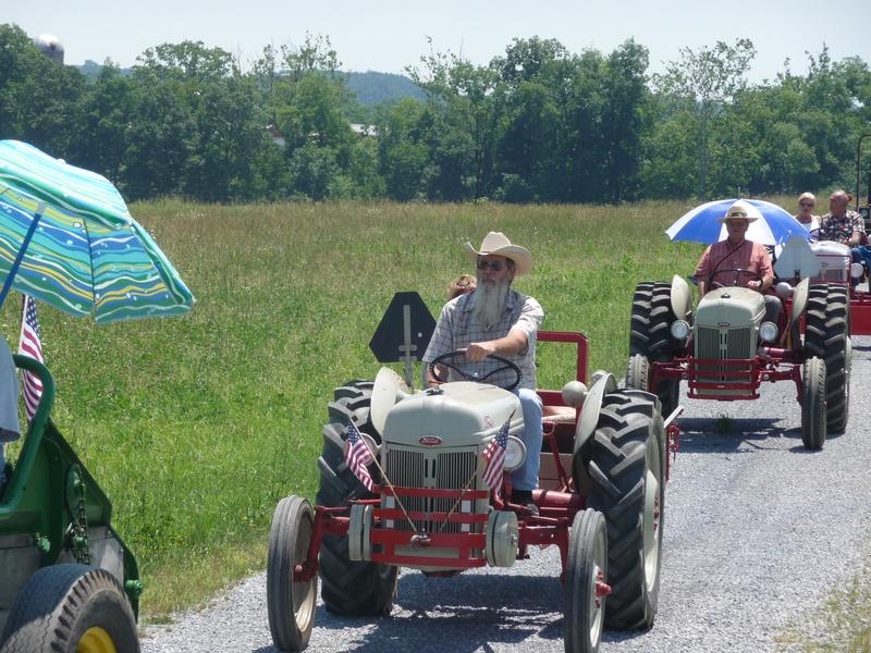 CVAEMA Tractor Ride