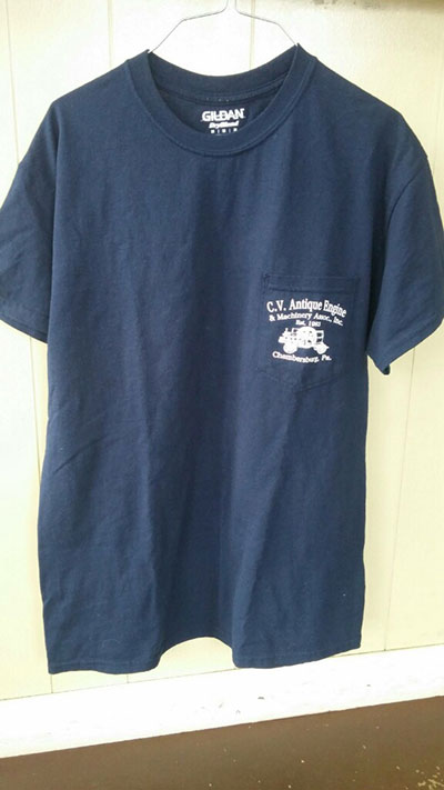 Cumberland Valley Antique Engine & Machinery T-Shirt Front