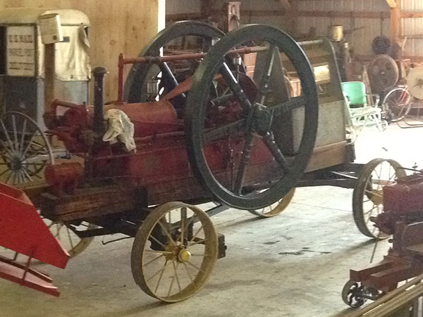 20 HP IHC International Harvester Titan Gas Engine