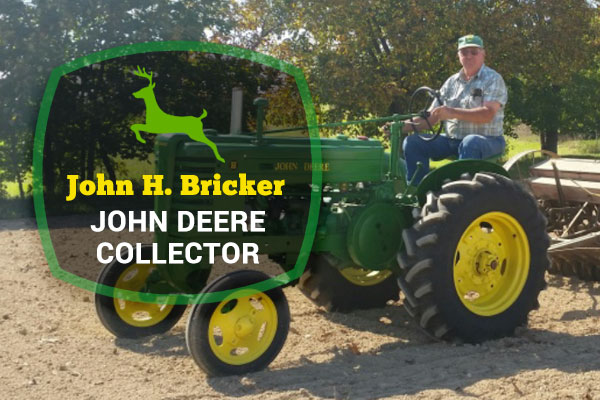 John H. Bricker John Deere Collector