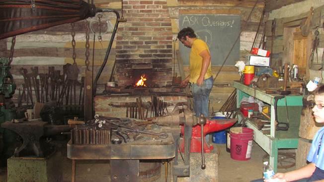 Blacksmith Hammer-In - Introduction to Blacksmithing @ Blacksmith Shopw @ CVAEMA Showgrounds | Chambersburg | Pennsylvania | United States